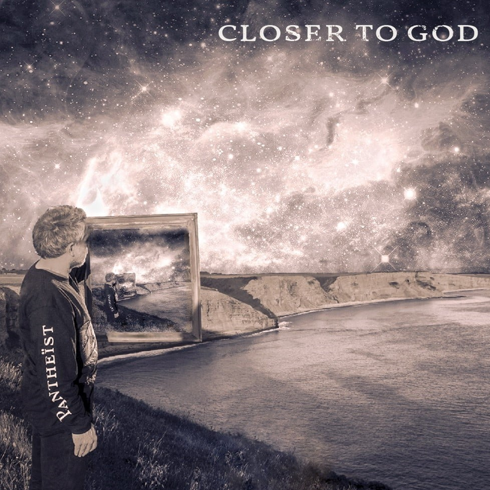 The cover artwork for Pantheist's new album, 'Closer to God'